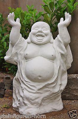 BUDDHA HÄNDE HOCH BUDDHAS aus STEINGUSS NEU GARTEN & TEICH FROSTFEST JA-BUDDHA
