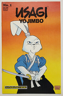 Usagi Yojimbo 1 1987, Fantagraphics VF Stan Sakai 1st Print - $134.99