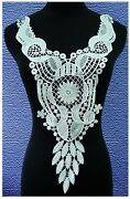 White Venise Lace Applique