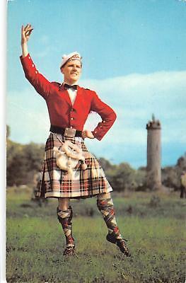 uk9002 highland fling scotland uk music dance folklore costume types