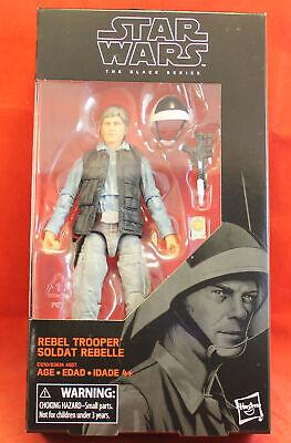 """Star Wars 6"""" Action Figure Black Series #69 Rebel Trooper"""