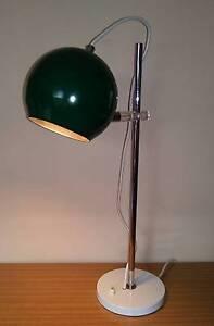Vintage Mid Century Danish Style Table Desk EYEBALL LAMP Golden Grove Tea Tree Gully Area Preview