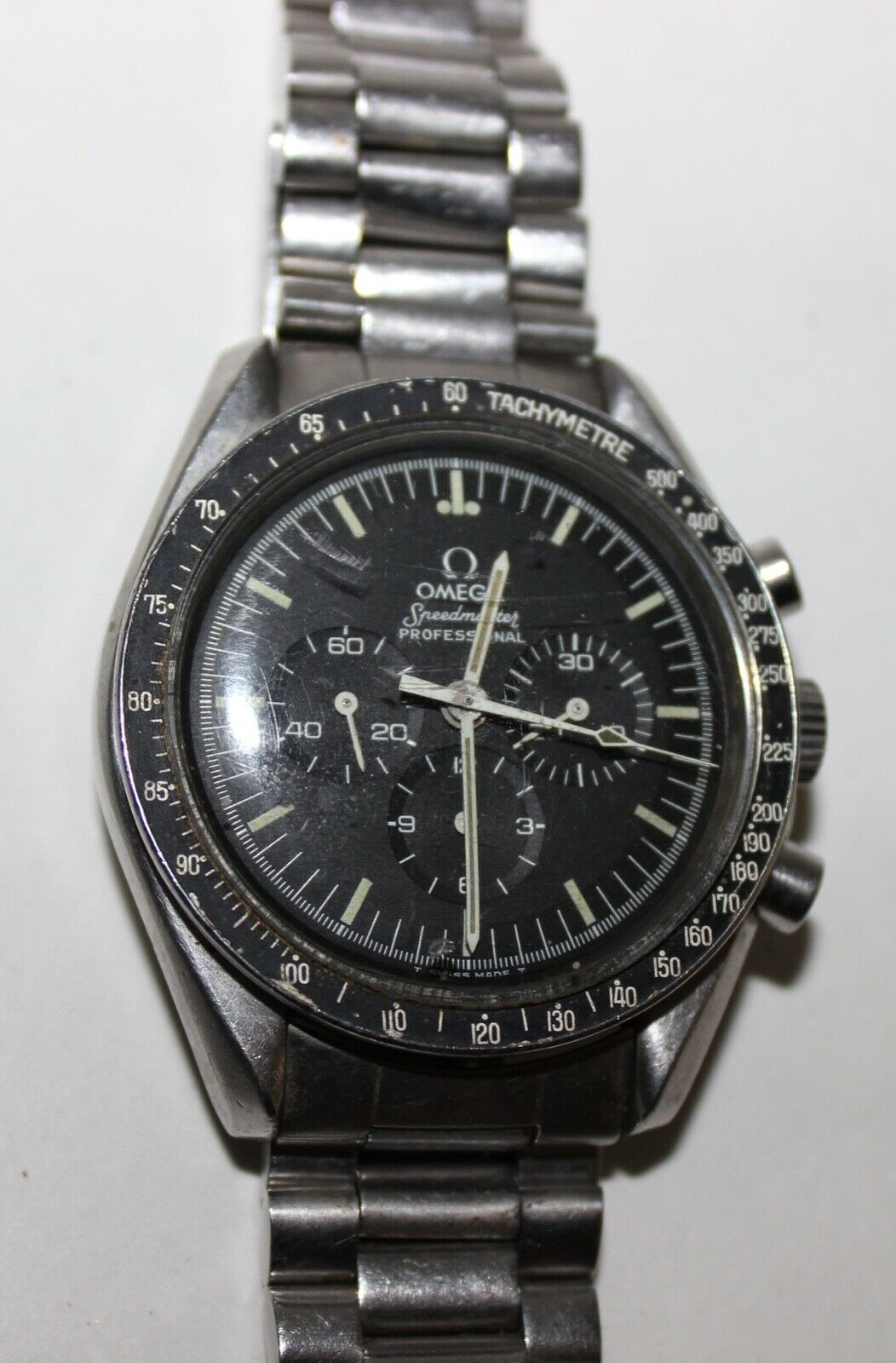 OMEGA SPEEDMASTER PROFESSIONAL 42 MM CHRONOGRAPH MOON WATCH–VINTAGE ESTATE NR! - watch picture 1