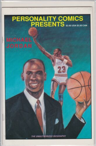 MICHAEL JORDAN PERSONALITY COMIC BOOK (1991)