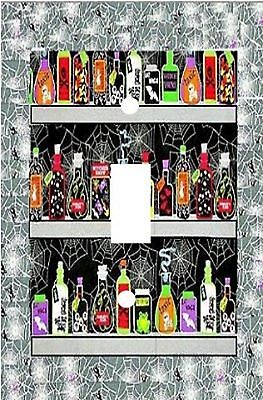 Halloween Witches Brew - Decorative Decoupage Light Switch Covers   (Decoupage Halloween Decorations)