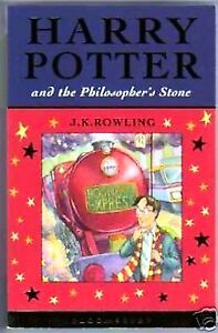 HARRY POTTER & PHILOSOPHERS STONE UK FIRST EDITION 1ST PRINT Bloomsbury