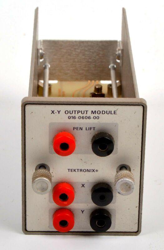 Tektronix X-Y Output Module 016-0606-00, option for 1502 or 1503