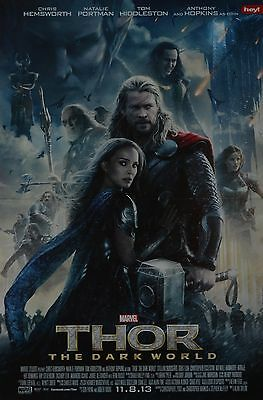 THOR - A3 Poster (ca. 42 x 28 cm) - Film Plakat Chris Hemsworth Clippings NEU