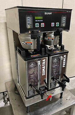Bunn Dual Sh Dbc Commercial Coffee Brewer 2015 Model Server 33500 Maker Pickup