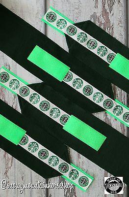 Horse Polo Leg Wraps For Horses Polos Set of 4 Starbucks Green