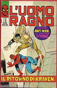 L-039-UOMO-RAGNO-28-COLLANA-SUPER-EROI-Editoriale-CORNO-13-maggio-1971
