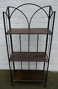 New French Style Display Bookcase Bakers Stand Metal Timber Melbourne CBD Melbourne City Preview