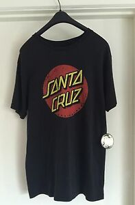 AUTHENTIC SANTA CRUZ TEE SHIRT SIZE SMALL MENS BRAND NEW WITH TAGS. Rowville Knox Area Preview