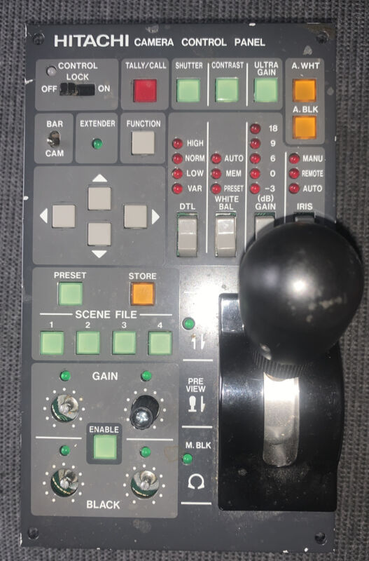 Hitachi RC-Z21A Camera Remote Control Panel Used Free Shipping