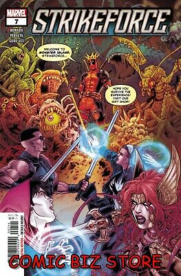 STRIKEFORCE #7 (2020) 1ST PRINTING RYP MAIN COVER BAGGED & BOARDED MARVEL