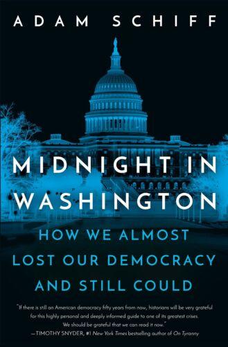 Adam Schiff SIGNED BOOK Midnight in Washington 1ST EDITION Hardcover ~ PREORDER!