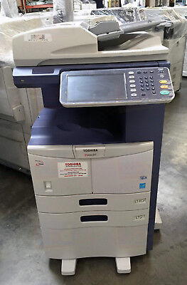 Toshiba E Studio 507 A3 Mono Laser Copier Printer Scanner Mfp 45ppm 357 457