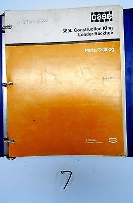 Case 680l Construction King Loader Backhoe Parts Catalog Manual Bur 8-4170