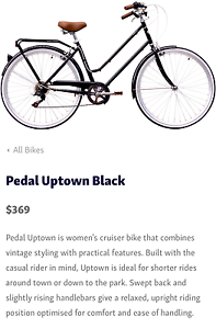 Uptown black with basket and helmet Robina Gold Coast South Preview
