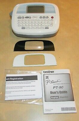 Brother Pt-90 Electronic Label Maker Personal Touch Used Good