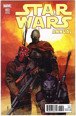 STAR WARS ANNUAL #3 - VARIANT ROD REIS COVER - FIRST PRINT - MARVEL COMICS 2017