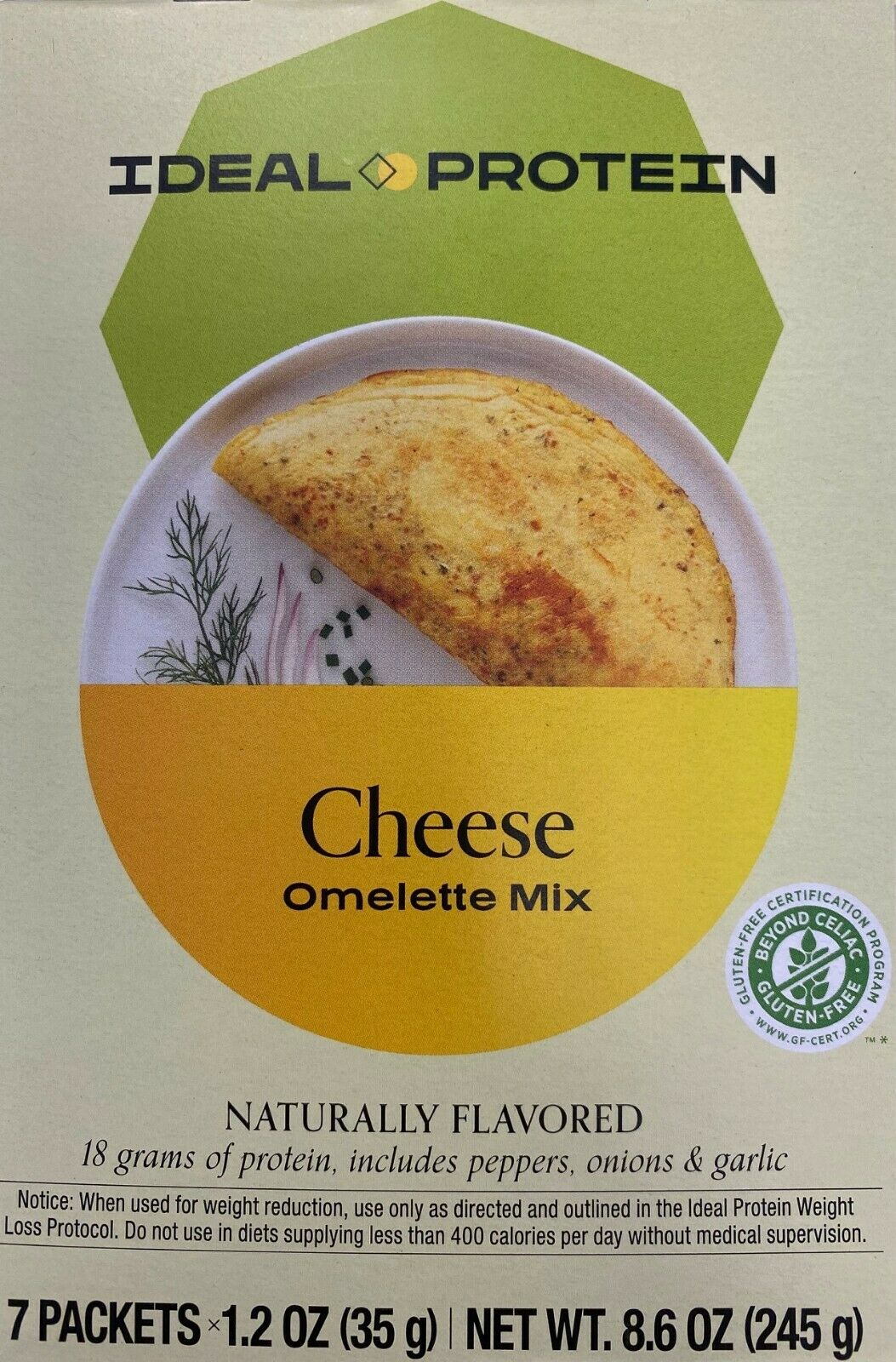 IDEAL PROTEIN  Cheese Omelet New