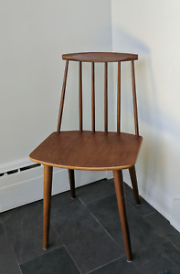 Chaise Folke Palsson for FDB Mobler Erable et Teak - Danemark