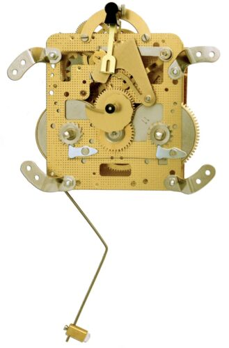 New 141 020 45 Db Hermle Clock Movement Ebay