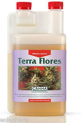 TERRA FLORES 1 Litro,FLORACION, ABONO FERTILIZANTE CANNA,Grow