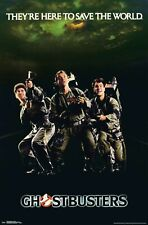 GHOSTBUSTERS - CLASSIC MOVIE POSTER - 22x34 - 17849