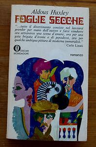 ALDOUS-HUXLEY-Foglie-secche-s-e-1971-Mondadori
