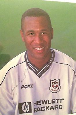7x5 Signed Photo of Tottenham Hotspur Player, Les Ferdinand