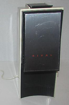 Vintage Retro RIVEL Ice Crusher Maker Model 824 Ice-O-Matic Portable Table Top Portable Ice Crusher