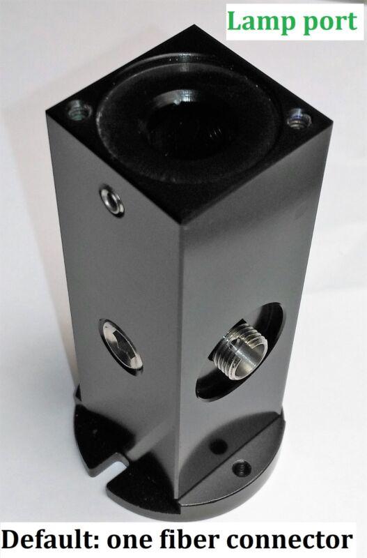 Light-tight Pencil Lamp Housing with one SMA 905 Fiber Adaptor