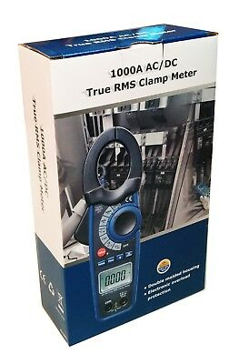 Dt-3347 Acdc 1000 Amp Clamp-on Current Voltage Capacitance Frequency Meter New