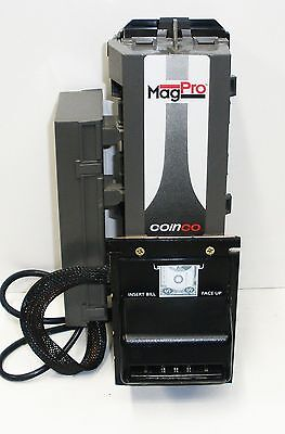 Coinco MagPro Bill Acceptor / Validator MAG50B Beverage Snack Used NB