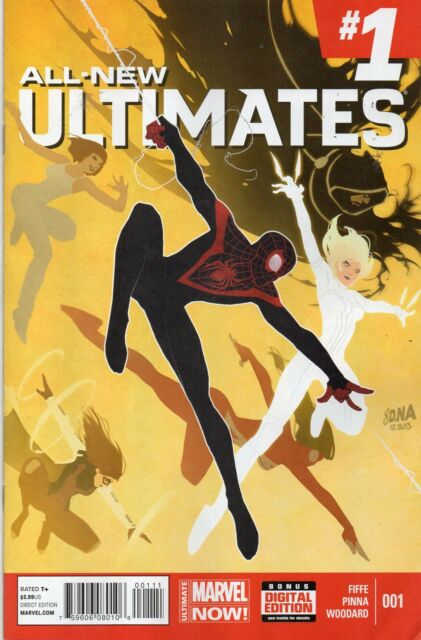 MARVEL COMICS ALL NEW ULTIMATES #1 JUNE 2014 1ST PRINT NM