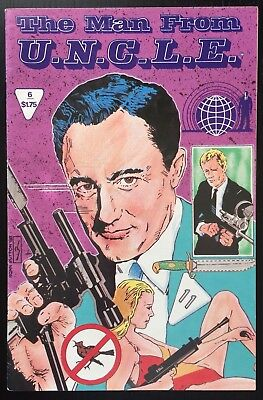Man From Uncle Comic  6   The Lost City Of Thrush Affair   1988