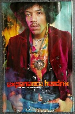 Jimi Hendrix Experience Hendrix The Best of 1998 PROMO POSTER
