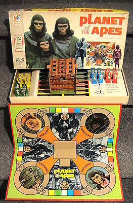 1974 PLANET OF THE APES BOARD GAME