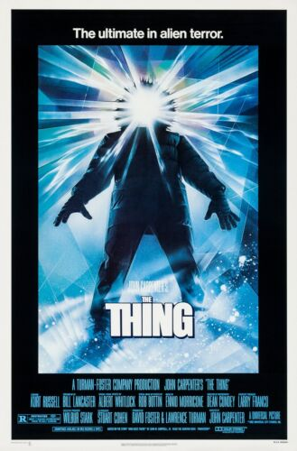 THE THING (1982) ORIGINAL MOVIE POSTER  -  ROLLED  -   DREW STRUZAN ARTWORK