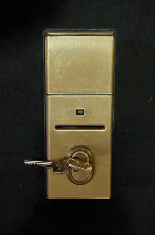 Vingcard Remote Key Card Reader Lock Brass fully tested