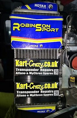 Rotax Max Radiator Cover x2