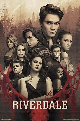RIVERDALE - MYSTERY COLLAGE POSTER - 22x34 - TV 17939
