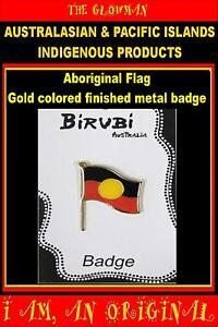ABORIGINAL INDIGENOUS AUSTRALIA METAL BADGE PIN KOORI WOMANS MENS CHILD SPORT