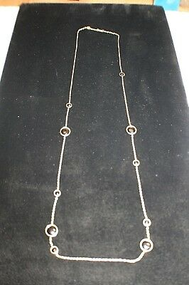 Ippolita Rock Candy  Station Onyx Necklace in 18K Gold STYLE# GN171NX 39""