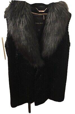 Ivanka Trump Luxurious Faux Fur Gilet - Size M