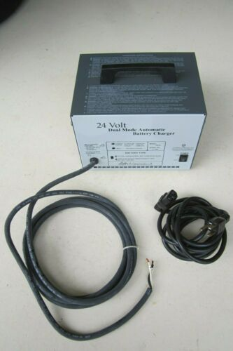 Lester 24 volt, 12 amp automatic battery charger #18830 cart vehicle, New - NOS