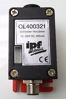 Ipf Electronic Fiber Optic Sensor M12 Ol400321