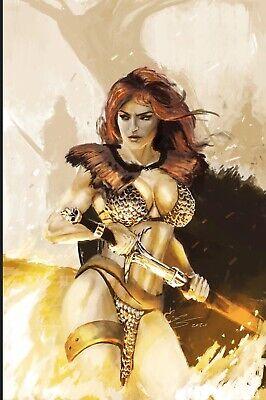 Killing Red Sonja #1 Virgin Cover Lim 400 Estaben Salinas HOT!! PRESALE!